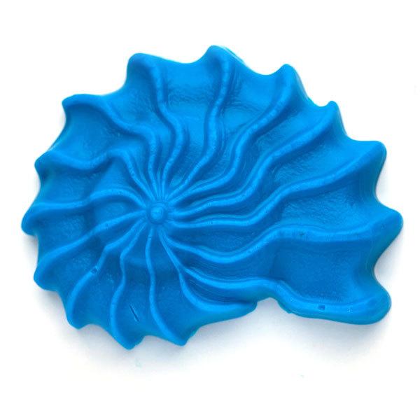 Пластиковая форма для мыла Ракушка спиральная