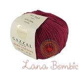 Пряжа Gazzal Baby Cotton 3442 винный