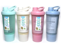 Бутылка для воды. Материал: пластик, силикон. Объём 500 ml. TZ-8902