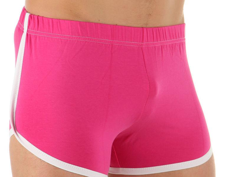 Мужские шорты домашние розовые Boefje  35635