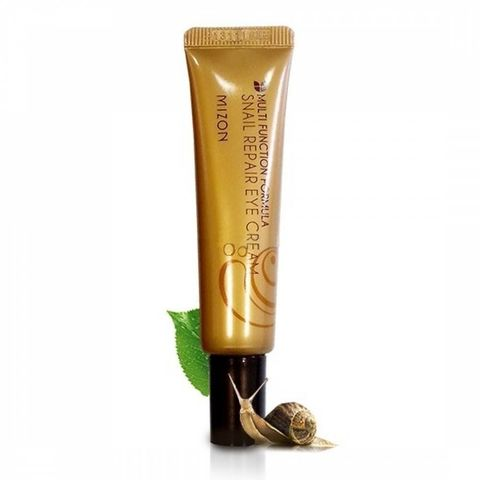 Крем для кожи вокруг глаз с экстрактом слизи улитки Mizon Snail repair eye cream (tube) (15ml)