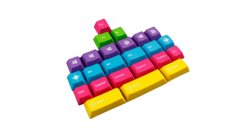 Набор клавиш модификаторов «CMYW 24Keys»