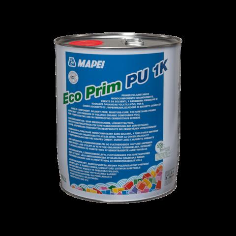 Mapei Eco Prim PU1K/Мапей Эко Прим ПУ1К однокомпонентная полиуретановая грунтовка  для гидроизоляции и укрепления цементных стяжек