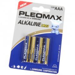 Батарейки Pleomax LR03 1.5V AAA(4шт.)