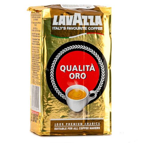 Кофе Lavazza Золотая ОРО молотый 250г м/у