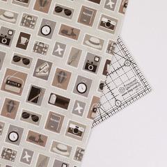 Ткань для пэчворка, хлопок 100% (арт. ST0314)