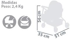 DeCuevas Коляска с сумкой серии