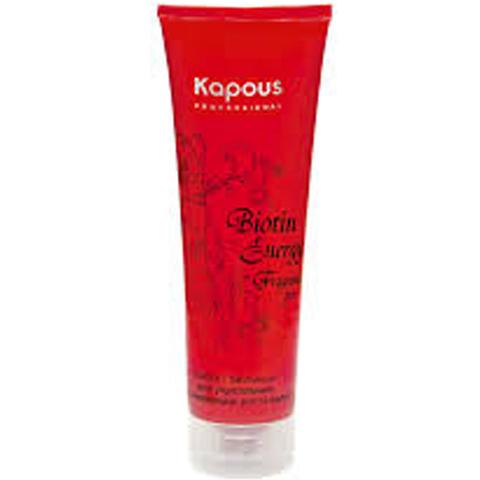 Маска с биотином для укрепления и стимуляции роста волос,Kapous Biotin Energy,150 мл.