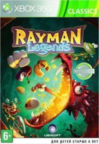 Xbox 360 Rayman Legends (Xbox 360 - Xbox One, английская версия)