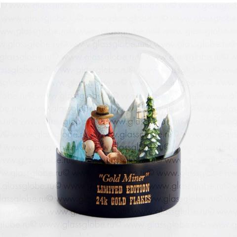 Снежный шар Золотая лихорадка