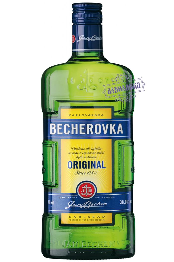 БЕХЕРОВКА. ЧЕШСКИЙ ЛИКЕР. 1 Л