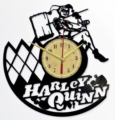 Харли Квинн Часы из Пластинки — Суперзлодейка