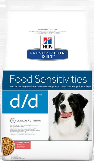 Сухой корм Ветеринарный корм для собак с пищевыми аллергиями, Hill`s Prescription Diet d/d Food Sensitivities, с лососем и рисом дд_утка.png
