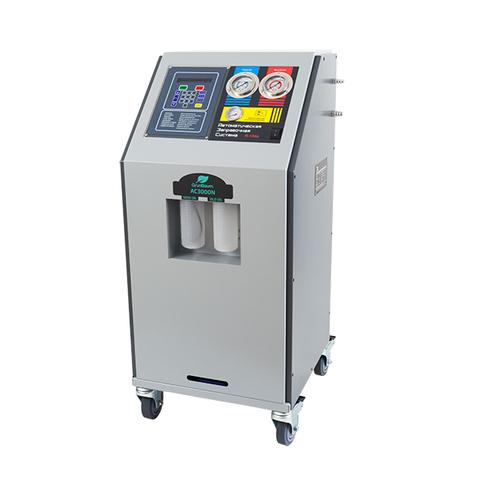 Установка для заправки авто кондиционеров GrunBaum AC3000N, полуавтоматическая, R134a
