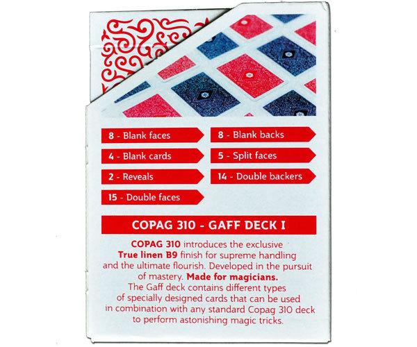 Карты для фокусов Copag 310 (gaff deck 1)