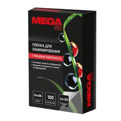 Пленка для ламинирования Promega office 54x86 мм глянцевая (100 штук в упаковке)