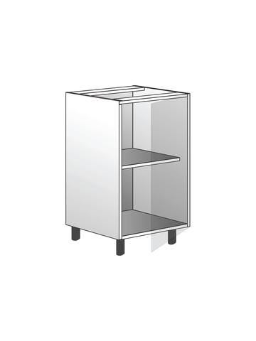 Напольный шкаф с полкой, 720х450 мм