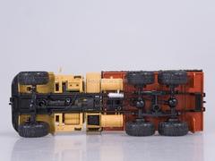 KRAZ-255B board with awning 1979 orange 1:43 Nash Avtoprom
