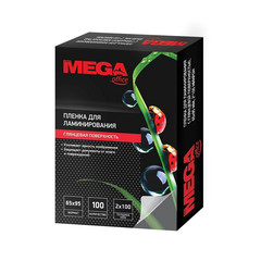 Пленка для ламинирования Promega office 65x95 мм глянцевая (100 штук в упаковке)