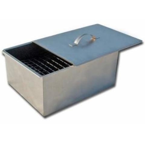Коптильня 2-х уровневая в г/коробке (300х250х170, толщ 0.5мм)