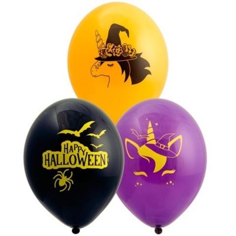 Латексный воздушный шар, Хеллоуин Единорог