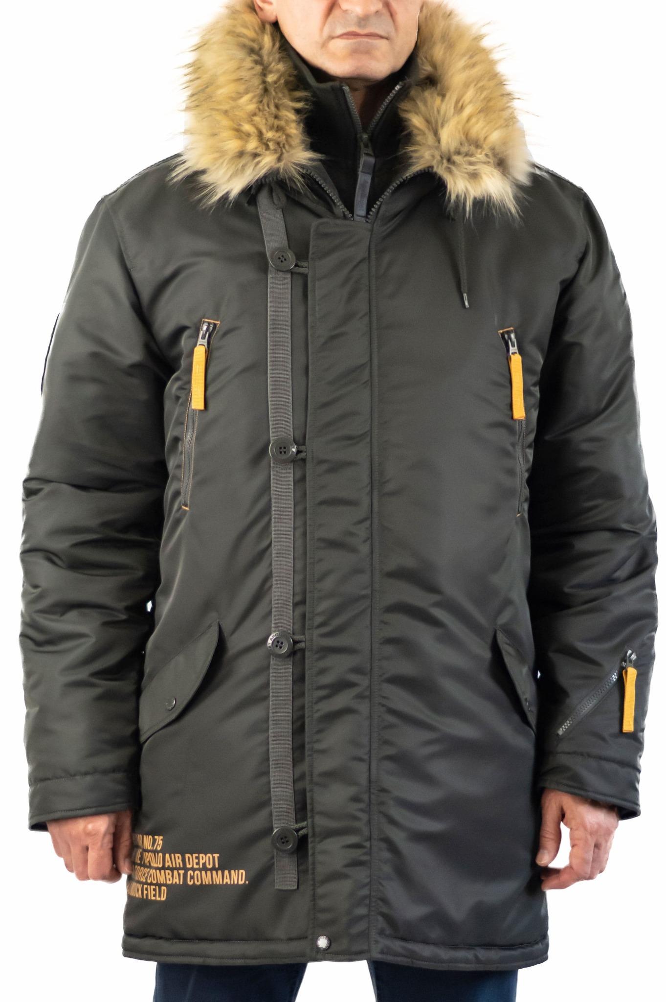 Куртка Аляска  Apolloget Arctic 2019 (т.серый - beluga)