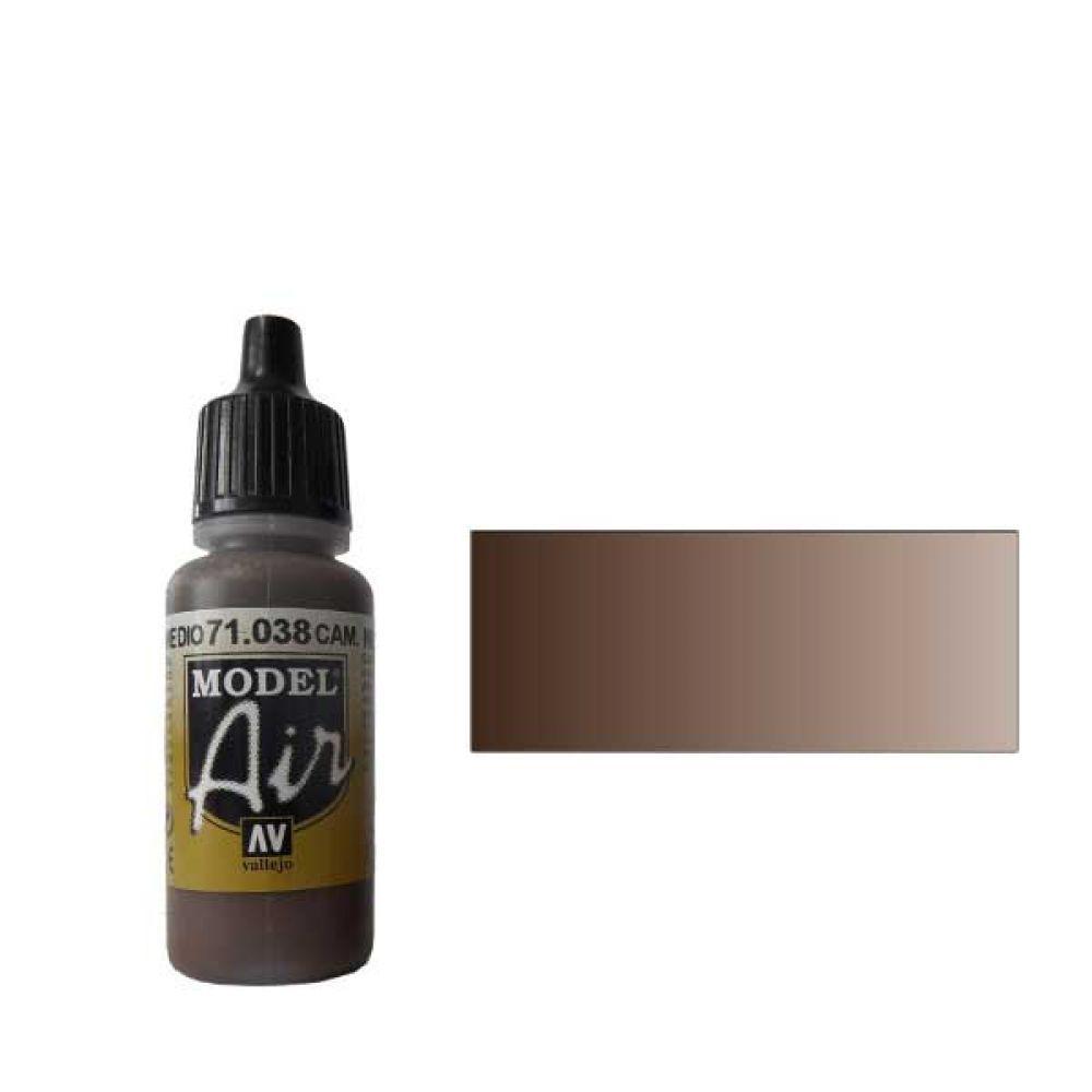 Model Air 038 Краска Model Air Комуфляжный коричневый средний (Cam. Medium Brown) укрывистый, 17мл import_files_d8_d8f83b6558fd11dfbd11001fd01e5b16_141d2239304c11e4b26e002643f9dbb0.jpg