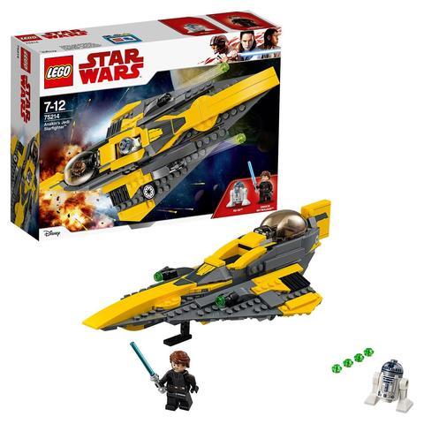 LEGO Star Wars: Звёздный истребитель Энакина 75214 — Anakin's Jedi Starfighter — Лего Звездные войны Стар Ворз