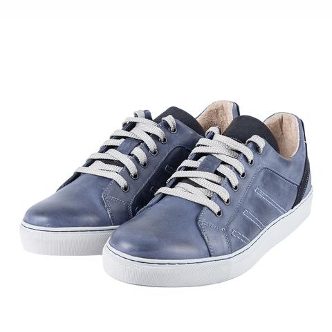 752308 Полуботинки мужские синие. КупиРазмер — обувь больших размеров марки Делфино