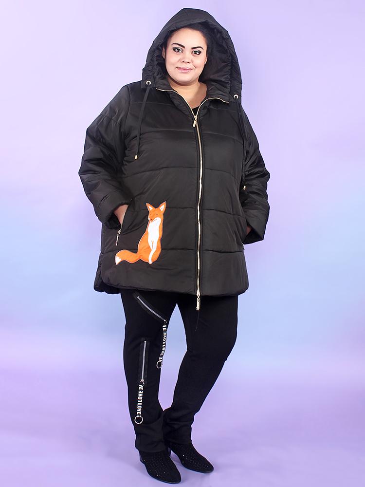 Зимняя куртка Лисичка