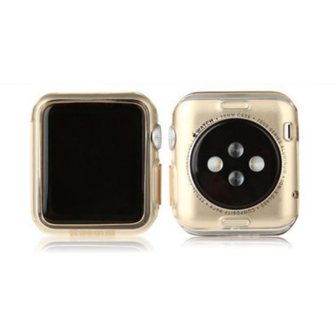 Чехол Apple watch 38mm Baseus Simple Case /gold/