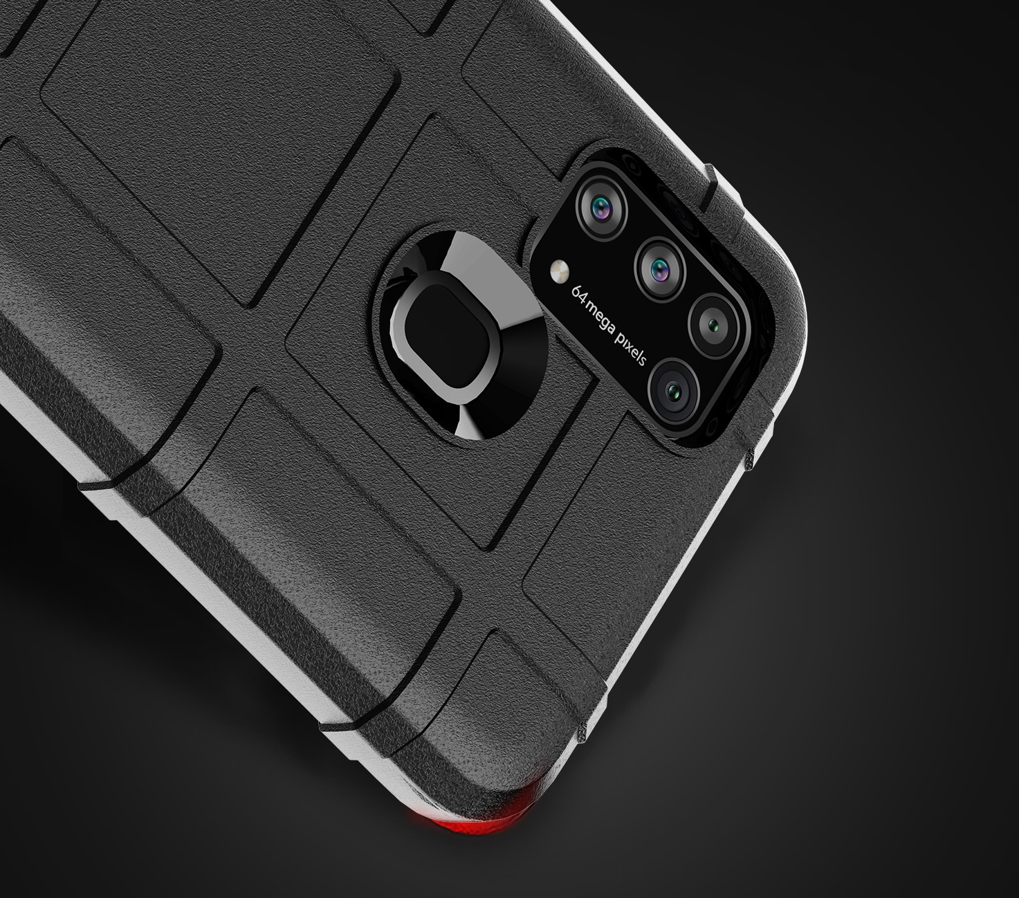 Противоударный чехол для Samsung Galaxy M31, серии Armor от Caseport