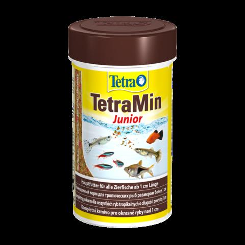 TetraMin Junior Сухой корм для мальков, способствующий росту мини-хлопья