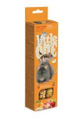 Палочки Little One для хомяков, крыс, мышей, песчанок с фруктами и орехами (2х55 гр)