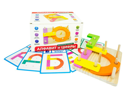 Конструктор-планшет Алфавит и Цифры, Анданте