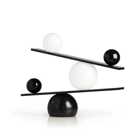 Напольный светильник копия Balance by Oblure (черный)