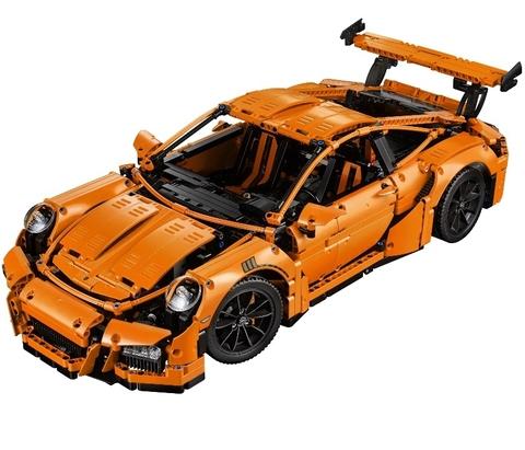 LEGO Technic: Porsche 911 GT3 RS 42056 — Porsche 911 GT3 RS — Лего Техник
