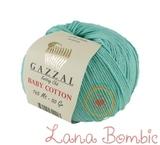 Пряжа Gazzal Baby Cotton 3452 лазурь