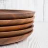 Тарелка деревянная, поднос, 24 см