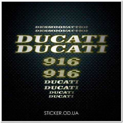 Набор наклеек DUCATI 916