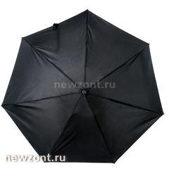 Женский мини зонт автомат 4 сложения Lamberti черный
