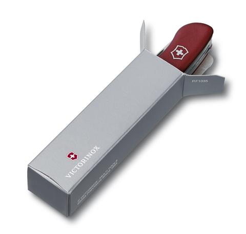 Нож Victorinox Hercules, 111 мм, 18 функций, с фиксатором лезвия, красный