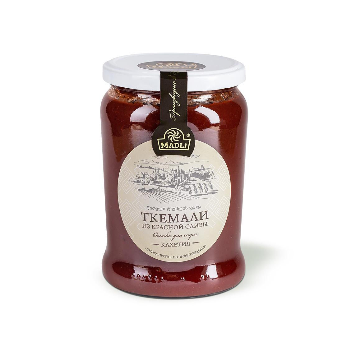 Пюре ткемали (основа для соуса из красной сливы)