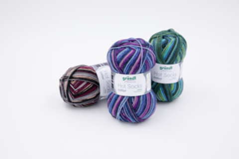 Gruendl Hot Socks Color 404