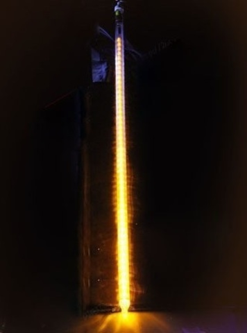 Тающая новогодняя гирлянда сосулька 80 см
