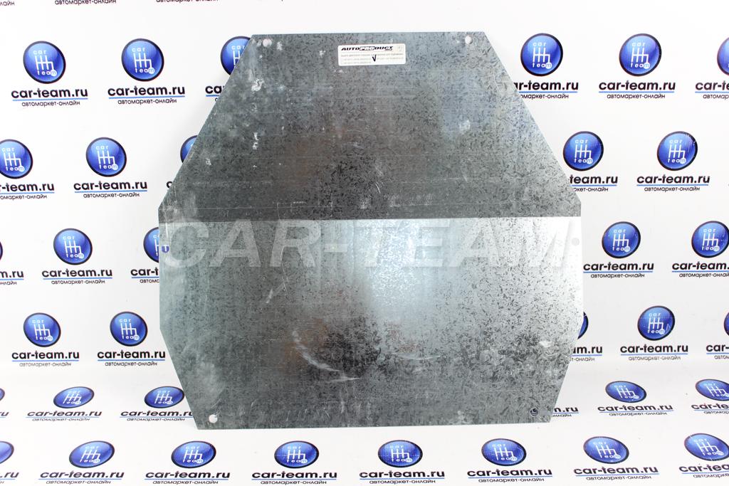 Защита двигателя стальная оцинкованная для подрамника Автопродукт на Лада Калина 1 и 2, Гранта