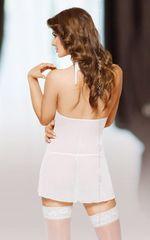 Полупрозрачная сорочка Marilyn в комплекте с трусиками-стринг -