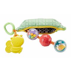 Fisher Price Мягкая игрушка с погремушками и прорезывателем