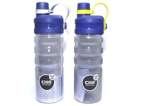 Бутылка для воды. Материал: пластик, силикон. Объём 900 ml. XL-1917