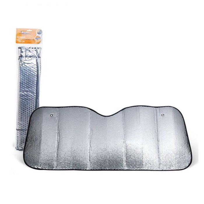 Солнцезащитный экран на лобовое стекло автомобиля 60 х 125 см фото